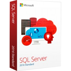 SQL SERVER STANDARD ED. 2016 OPEN