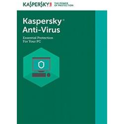 KASPERSKY ANTIVIRUS 1+1 1 AÑO
