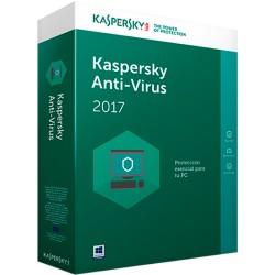 KASPERSKY ANTIVIRUS 2017 1 PC