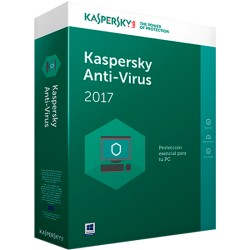 KASPERSKY ANTIVIRUS 2017 10 PCS