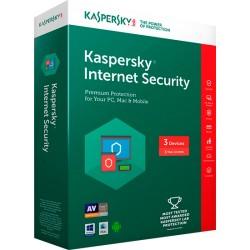 KASPERSKY INTERNET SECURITY 2017 2 PCS