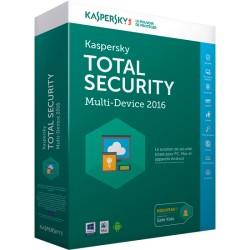 KASPERSKY TOTAL SECURITY 3 PCS