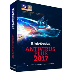 BITDEFENDER ANTIVIRUS PLUS 2017 1PC 1 AÑO