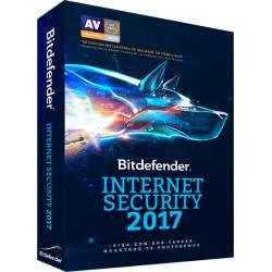 BITDEFENDER INTERNET SECURITY 2017 1PC 1 AÑO