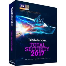 BITDEFENDER TOTAL SECURITY 20173 PCS